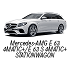 Mercedes-AMG E 63 4MATIC+/E 63 S 4MATIC+ STATIONWAGON